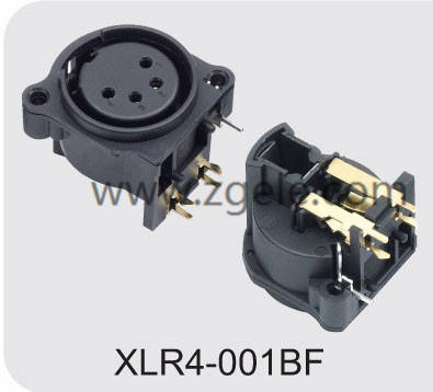 Low price xlr cable adapter manufactures,XLR4-001BF