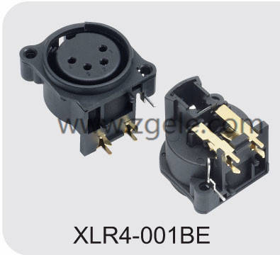 Low price 3pin Xlr Connector Coaxial Cable Connector factory,XLR4-001BE