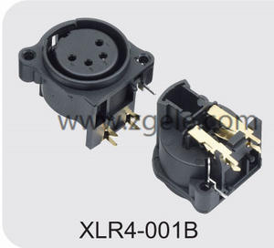 Low price speaker socket XLR Connector supplier