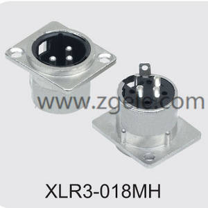 Low price Metal Housing 3p Female XLR Jack factory,XLR3-018MH