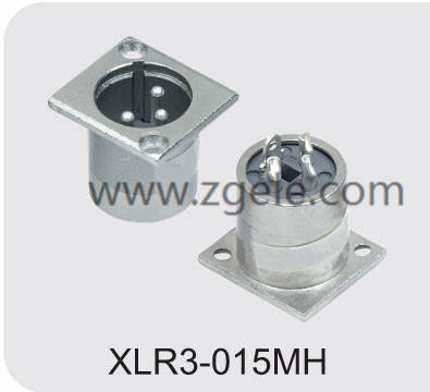 High quality metal connector manufactures,XLR3-015MH