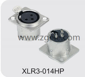 High quality Metal Housing 3p Female XLR Jack supplier