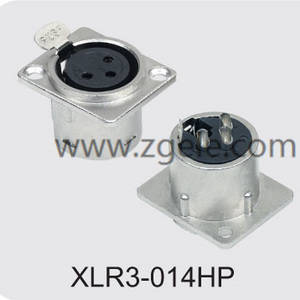 High quality Metal Housing 3p Female XLR Jack supplier,XLR3-014HP