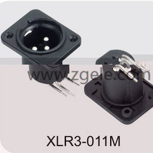 Low price 3 Pin Xlr Connector Female Audio Plug factory,XLR3-011M