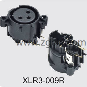 7 Pin With Push Switch XLR Combo Socket,XLR3-009R