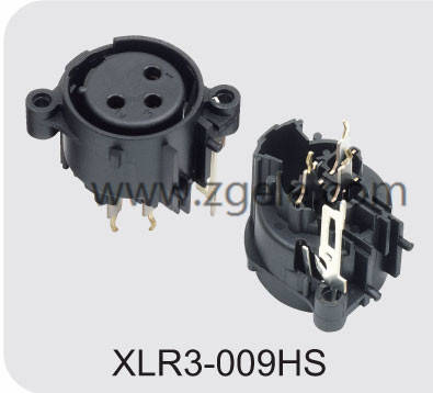 china Microphone Chassis Jack supplier,XLR3-009HS