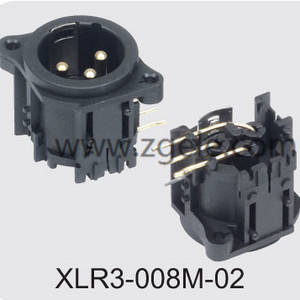 wholesale Low price Audio Jack Cable Xlr Combo Connector factory,XLR3-008M-02