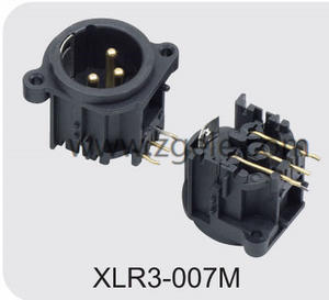 High quality 3 Pin Female XLR Connector exportes