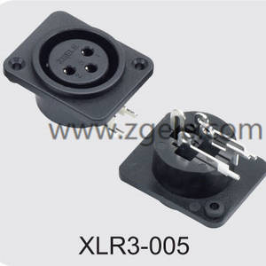 Low price Microphone XLR 3pin Canon Connector factory,XLR3-005