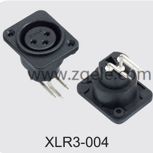 High quality Xlr Connector manufactures brands ,XLR3-004