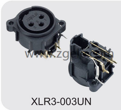 Low price XLR Male Cannon Connector for Loudspeaker supplier,XLR3-003UN