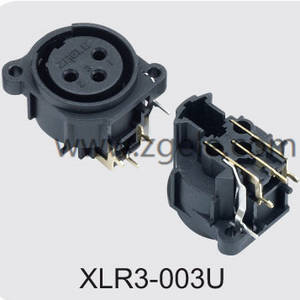 Low price Electronic connector manufactures,XLR3-003U