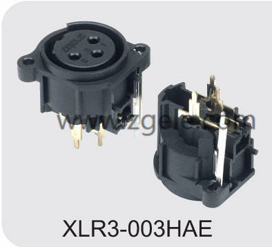 Low price Black Housing Female XLR cable factory,XLR3-003HAE