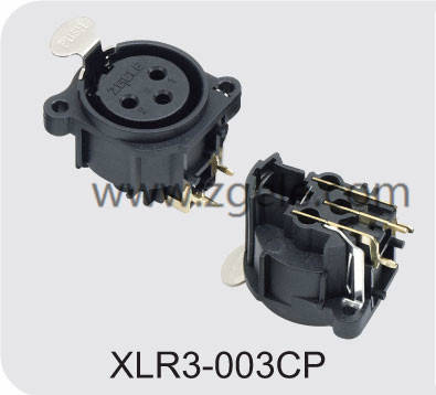 Low price Black Housing Female XLR cable factory,XLR3-003CP
