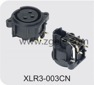 Low price 5000 times panel mount XLR connector manufactures