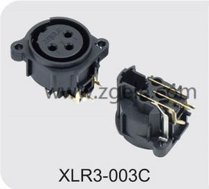 Low price 3 Pin Female XLR Connector discount