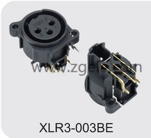 Low price XLR male and female connector exportes