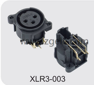 Low price XLR (CT) CONNECTOR supplier,XLR3-003
