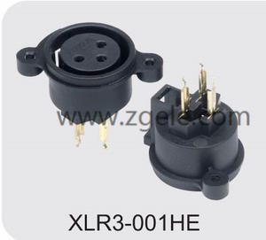 Low price CT XLR panel Connector socket supplier