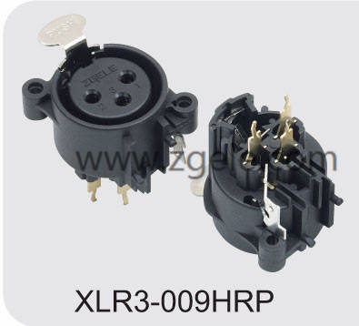 High quality XLR male and female connector factory,XLR3-009HRP
