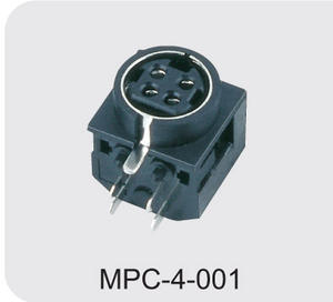 Low price 4 pin din power connector supplier
