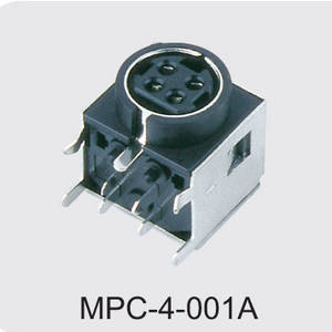 china 4 pin din power connector manufactures,MPC-4-001A
