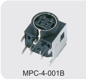 custom-made 4 pin din power connector supplier