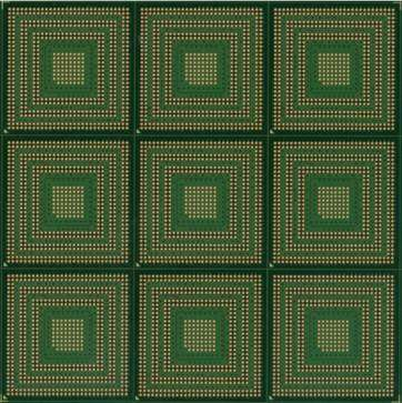 substrate circuit board fccsp