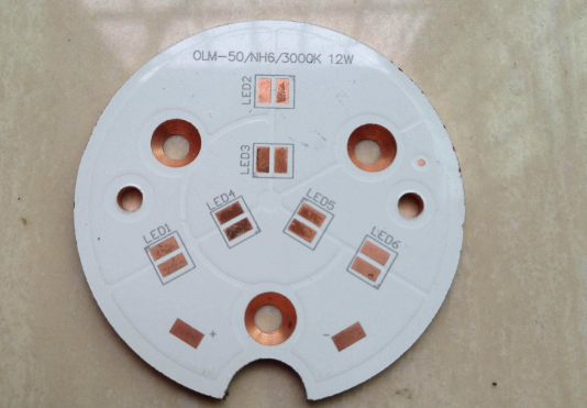single-side board LED Copper base printed circuit board