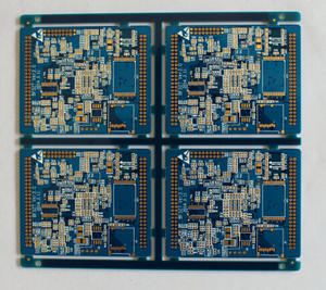laminate manufacturers 4L 1um immersion gold rigid board pcb factory