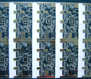 4L FR4 Lead-free HASL blue multilayer board