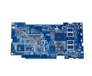 laminate manufacturers 4L blue FR4 immersion silver PCB for pcb sale