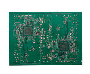 eagle manufacturer 8L Impedance 4-4mil OSP board pcb factory