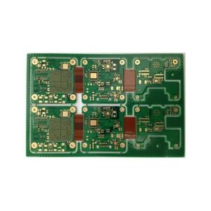 10L R-F circuit board thickness1.6mm min-hole 0.25mm green immersion gold