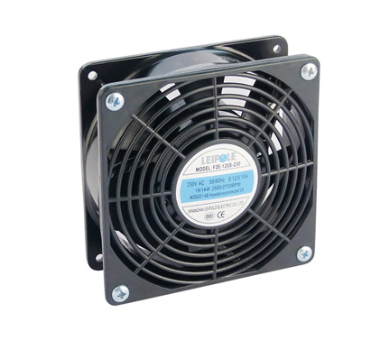 F2E-120S/B axial Fan For Panel