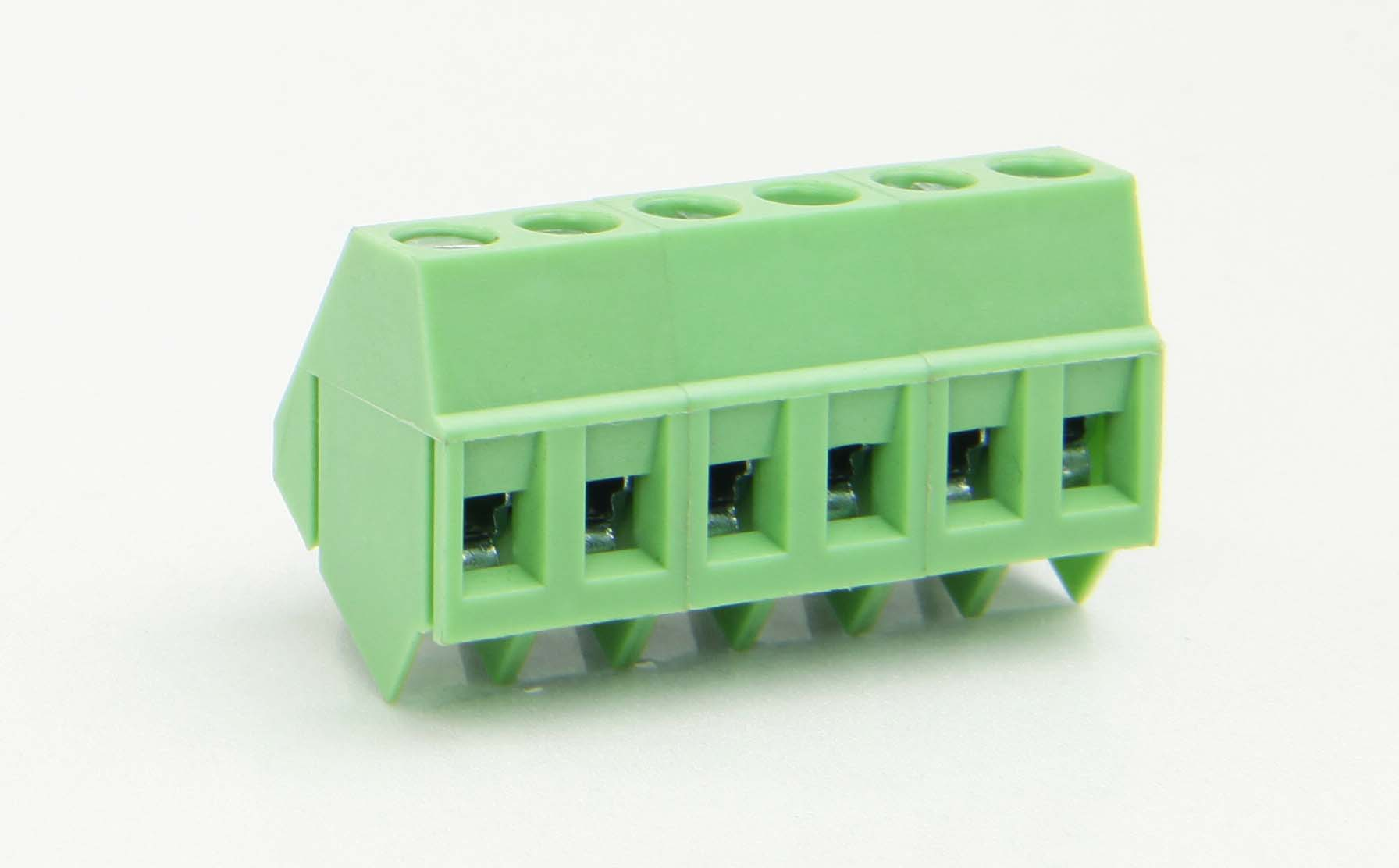 LP103-5.00-B 4 Pin Connector With Steel Cage