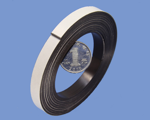 1.5mm X 10mm Strong Magnetic Tape with Economic Acrylic Adhesive