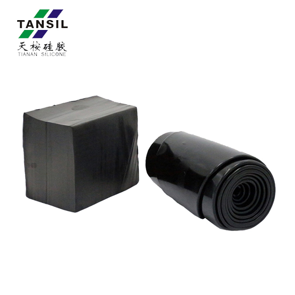 Conductive Stretchy Silicone Rubber Watch Band Raw Material