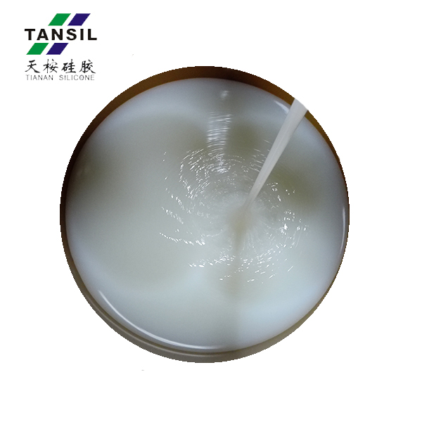clear liquid rubber silicone spoon raw material