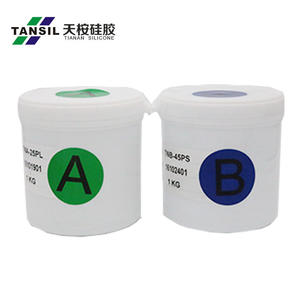 custom-made clear rtv silicone raw material