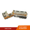 TEKNO 1/50 TRACTOR WITH TRAILER MODEL