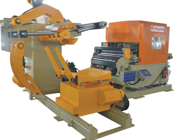 Uncoiler straightener and feeder