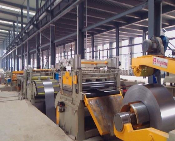 KJH40 series cutting line machine for steel sheet