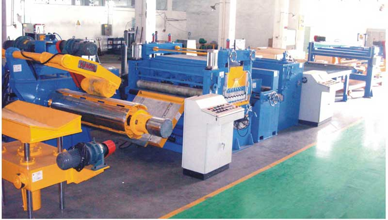 KJH25 series thin steel low speed cut to length line