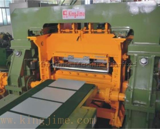 KJF100-2-1300 rotary shear cutting line