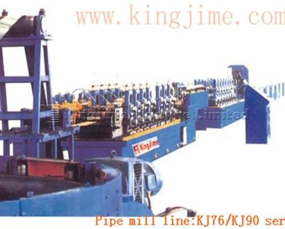 KJ76/90 Straight seam welded pipe mill line