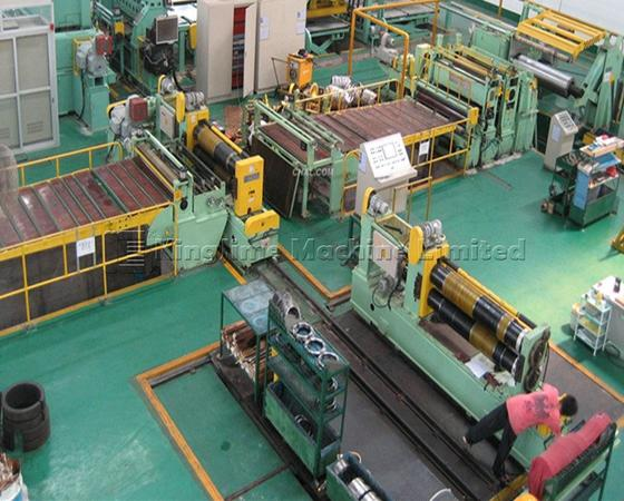 KJS3-1600 High speed steel coil slitting line