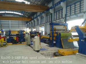 Belt tension Slitting line