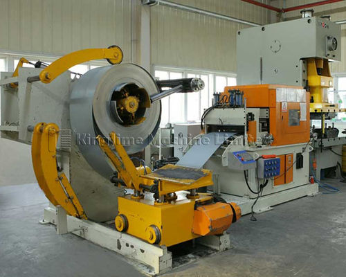 TNCF5 series steel coil feeder and straightener uncoiler