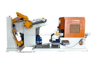 TNCF6 Series Leveller Feeder And Uncoiler Machine